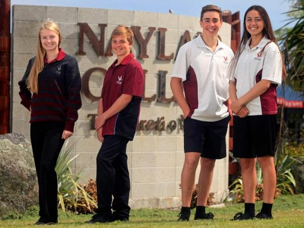 Students in Nayland Cllege Uniform